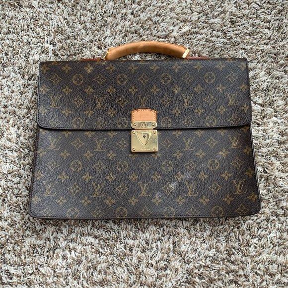 Louis Vuitton Handbags - Louis Vuitton Monogram Handbag Briefcase